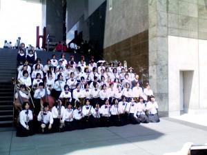 吹奏楽部 春の高校バンドフェスティバルに参加