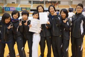 近畿中学校空手道選手権大会2