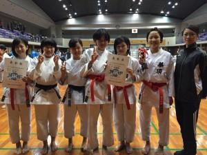 近畿中学校空手道選手権大会1